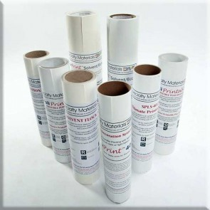 Pressure Sensitive Solvent Flock